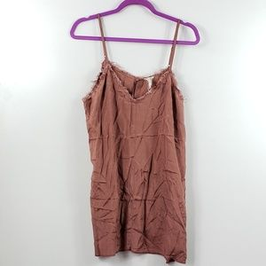 Free People  Large copper color camisole